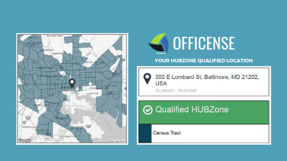HUBZone Certification Map